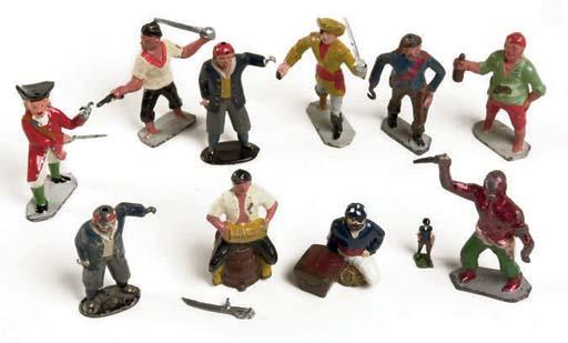Johillco and Reynolds Treasure Island Pirates