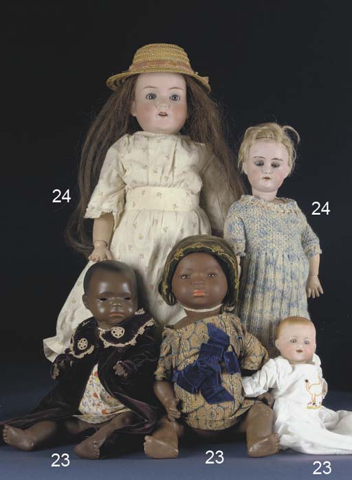A black character baby marked