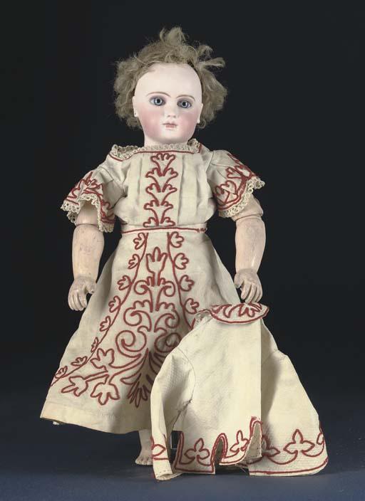 An early Portrait Jumeau bébé