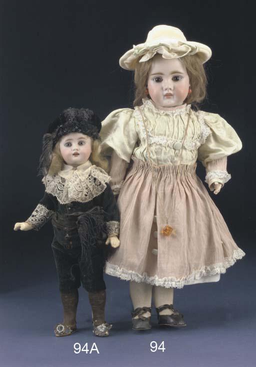 A Bähr & Pröschild child doll