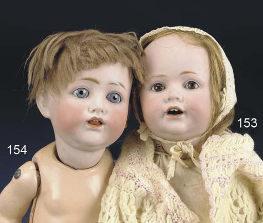 A Kestner 257 Character Baby