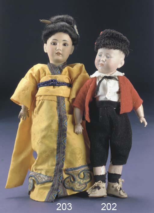 A Simon & Halbig 1329 Oriental
