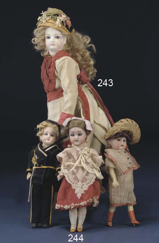 A Simon & Halbig child doll