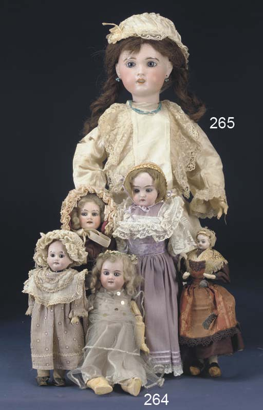 An S.F.B.J. 10 Child Doll