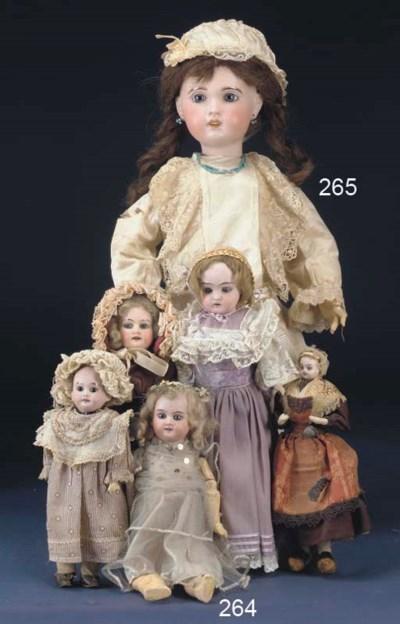 An S.F.B.J. 10 Child Doll