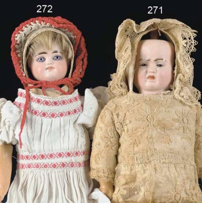 A two-faced child doll