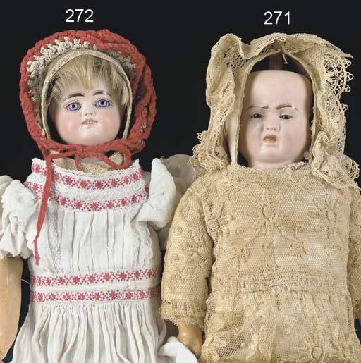 A rare three-face doll