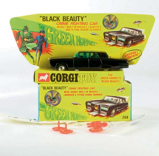 A Corgi 268 The Green Hornet's Black Beauty
