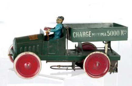 A Bonnet clockwork 246 'Le Deverseur' side-tipping Lorry