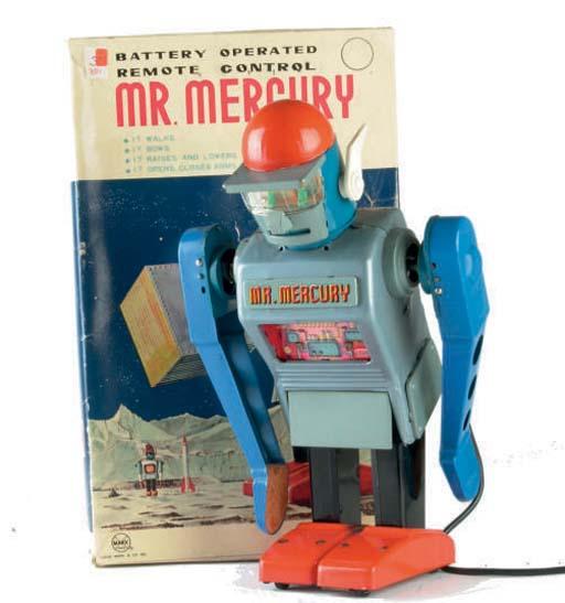 A Yonezawa for Marx battery-operated Mr. Mercury