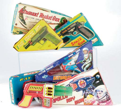 Japanese lithographed Space Guns
