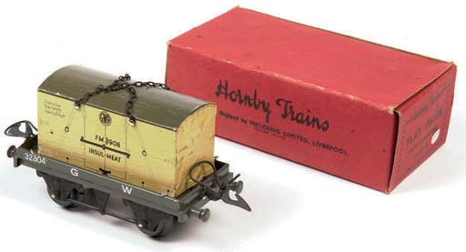 Post-war Hornby Trains Locomotives, Passenger Stock and No. 1 or No. 50 Tank Wagons and Flat Trucks