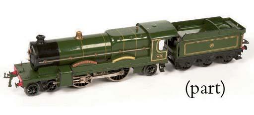 A Hornby Series clockwork Locomotives and Tenders
