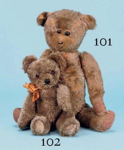 A Chad Valley type teddy bear