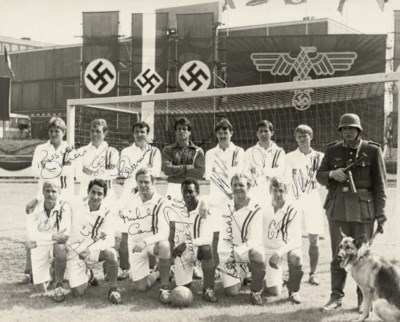 A BLACK AND WHITE TEAM LINE-UP