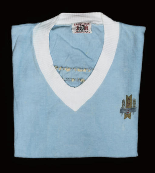 A BLUE URUGUAY 1970 WORLD CUP