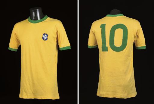A YELLOW BRAZIL V. ITALY 1970