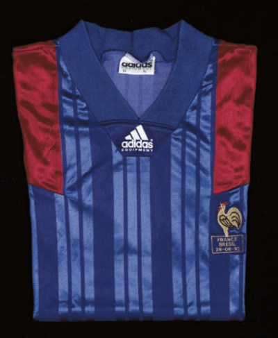 A BLUE FRANCE SHORT-SLEEVED SH