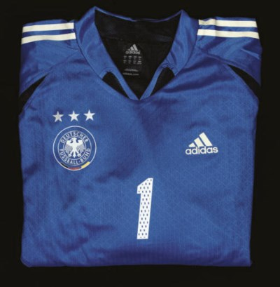 A BLUE GERMANY GOALKEEPER SHIR