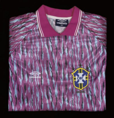 A PINK, BLUE AND BLACK BRAZIL