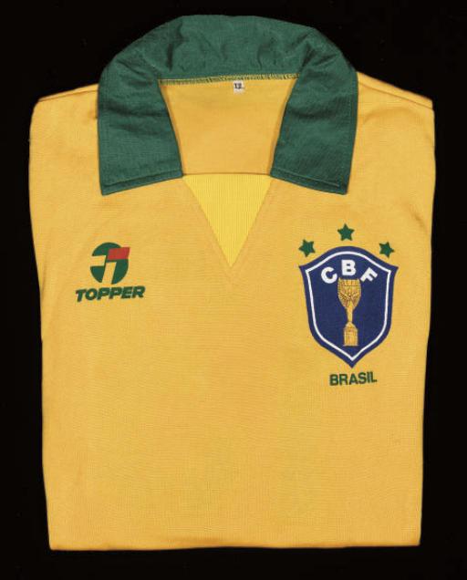 A YELLOW BRAZIL SHIRT