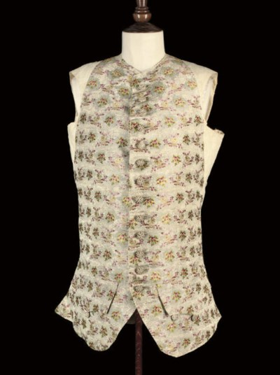THREE WAISTCOAT FRONTS AND A S