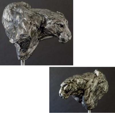 Leopard Bust III