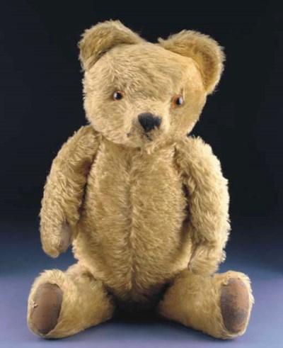 Post-war British teddy bear