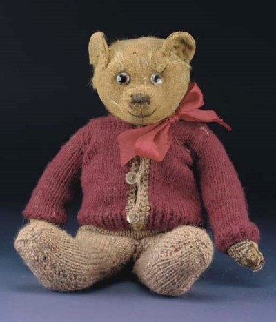 Basil, an early British teddy