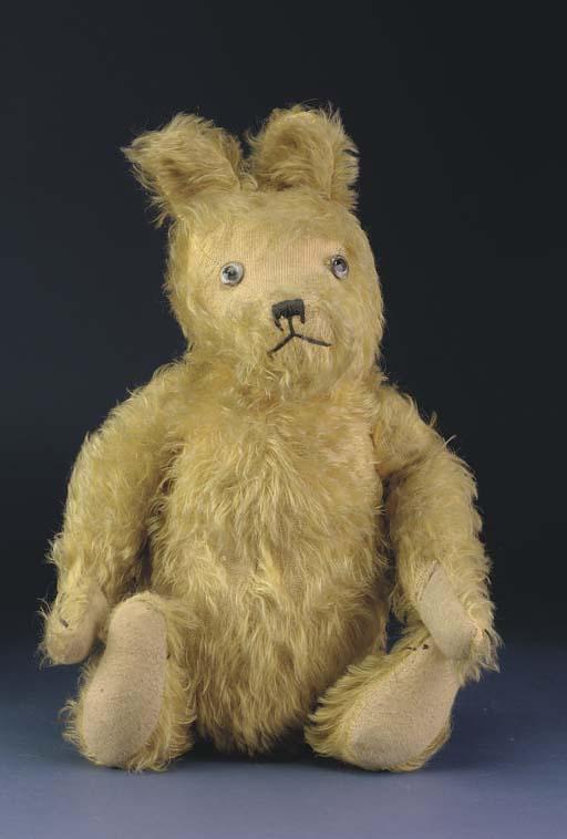 An unusual British teddy bear