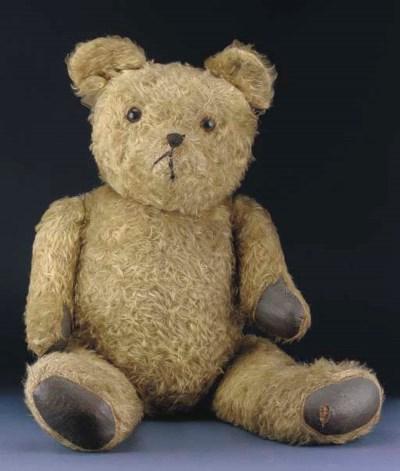 A post-war British teddy bear