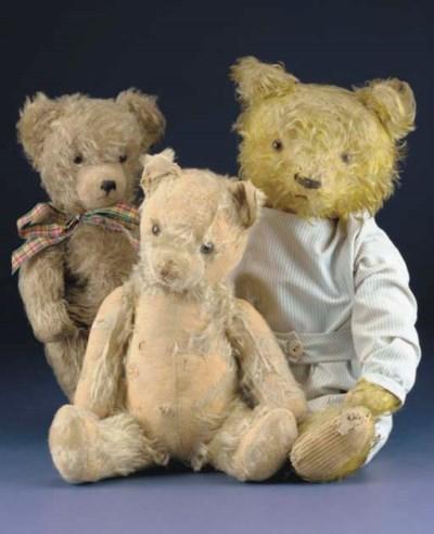George, a German teddy bear