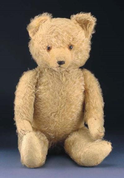 A German 1930s teddy bear