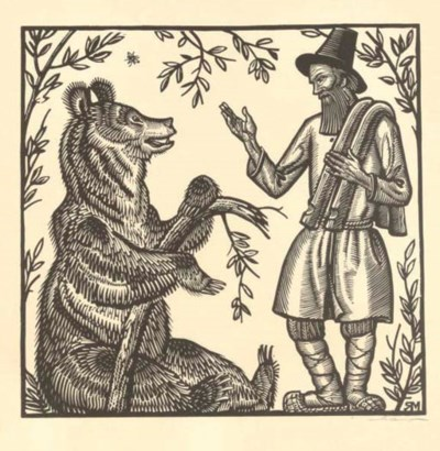 The Peasant and Bear
