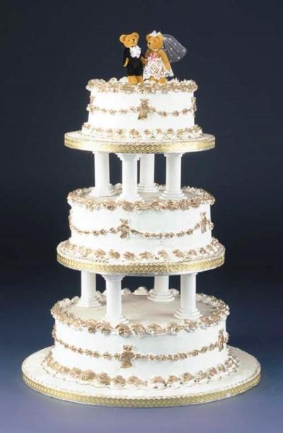 The Teddy Bear Wedding Cake