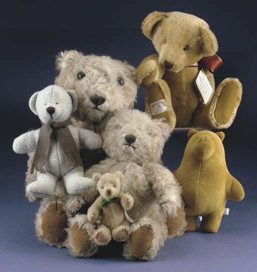 Various teddy bears