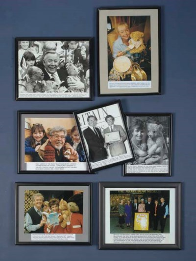 Photographs of various celebri