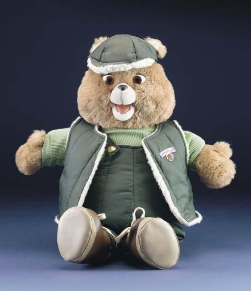 An original Mattel Teddy Ruxpi