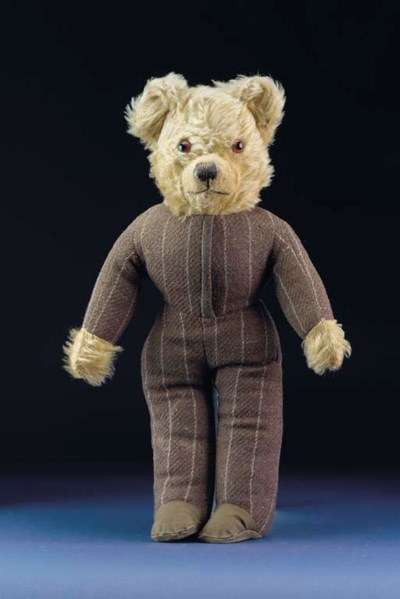 A British dressed standing ted