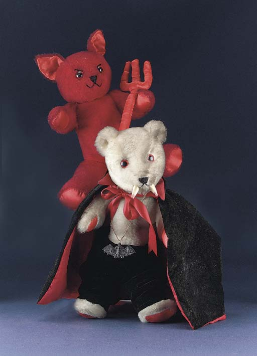Devil and Dracula Bear by Gail