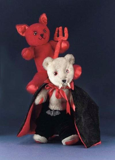 Devil and Dracula Bear by Gail