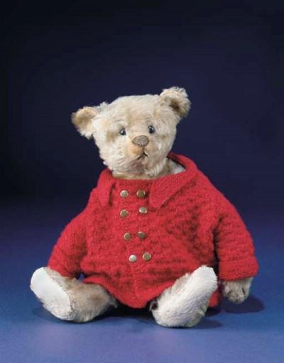 'Baby Barle', a Steiff teddy b