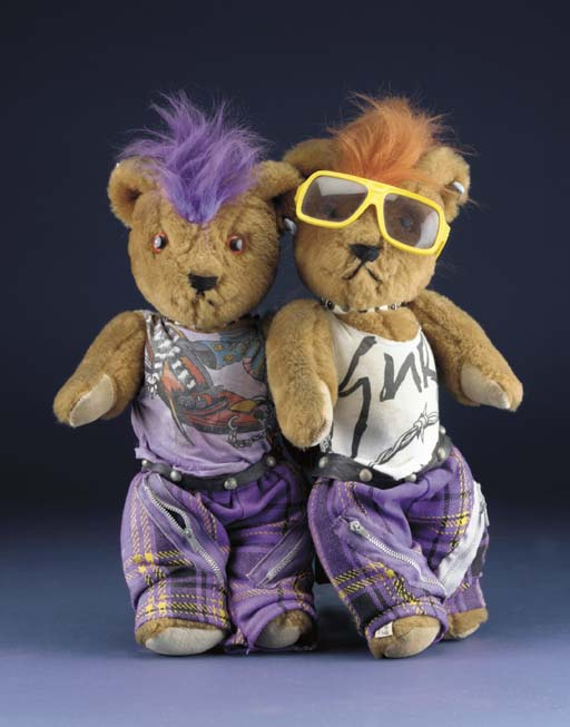Punk bears by Gail Everitt