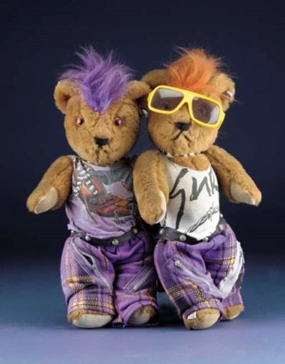 Punk bears by Gail Everitt
