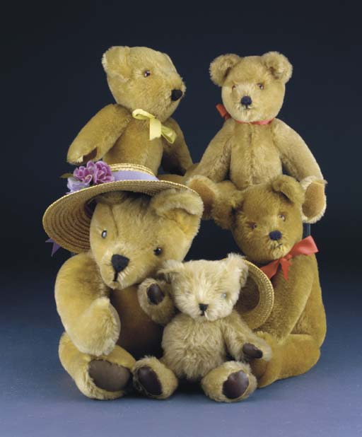 Modern bears from the Teddy Be