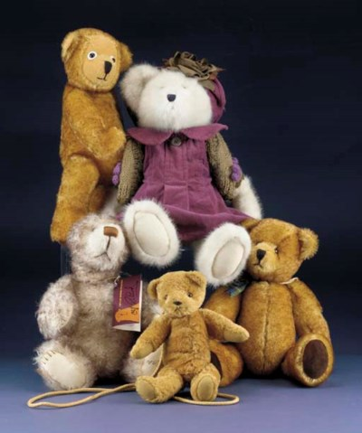 Bears by various makers