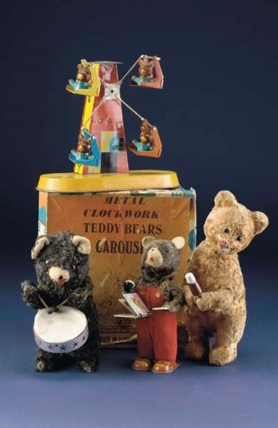 Clockwork bears