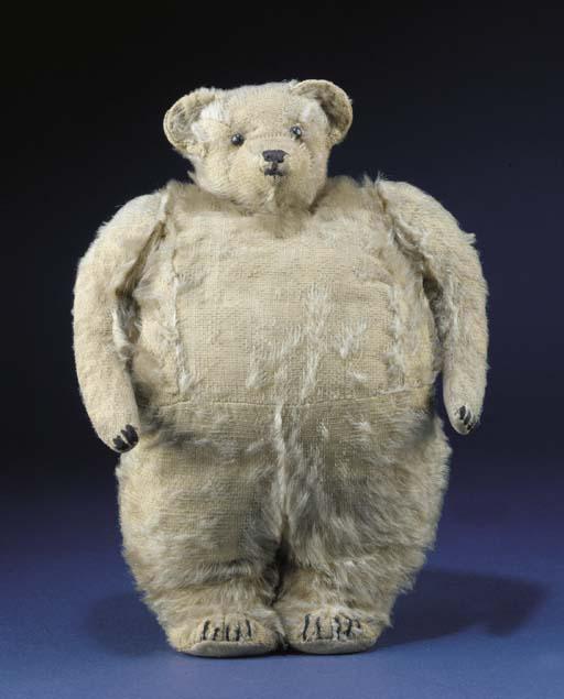 A rare Strunz teddy bear muff