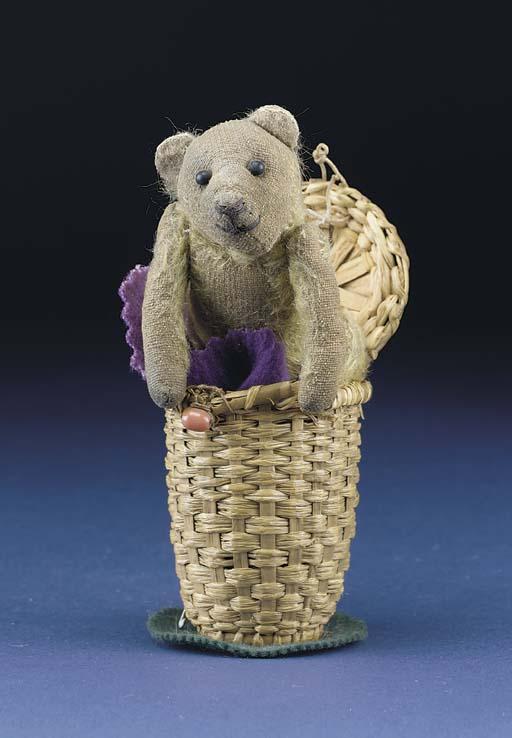 A small British teddy bear