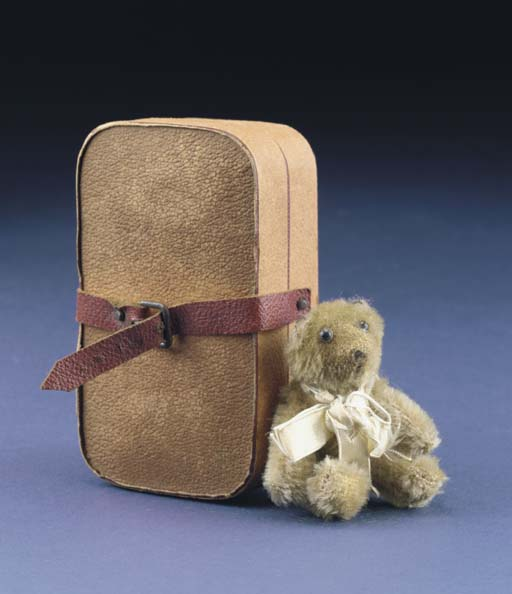 A Farnell 'soldier' teddy bear